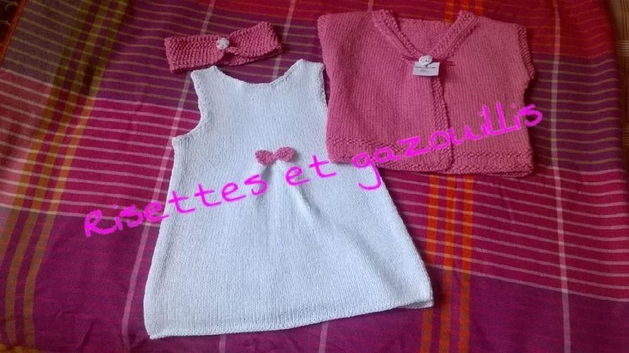 Makerist - un ete en rose et blanc! - Créations de tricot - 1