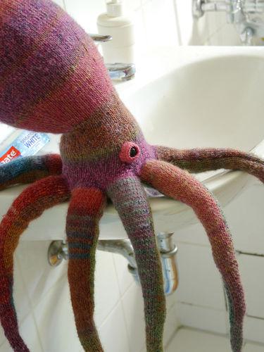 Makerist - Lovely Octopus - Knitting Showcase - 2