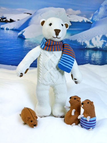 Makerist - Iluq the Polar Bear - Knitting Showcase - 1