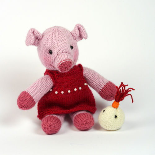 Makerist - The bravest little piggy in the world - Knitting Showcase - 1