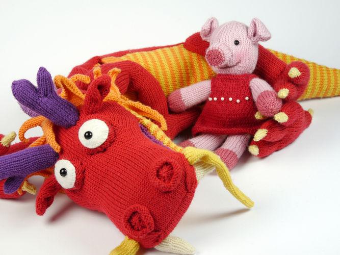 Makerist - The bravest little piggy in the world - Knitting Showcase - 2