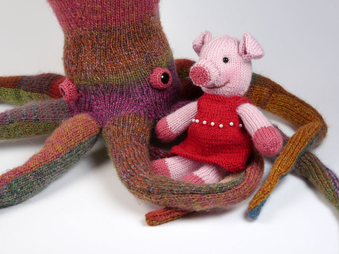 Makerist - The bravest little piggy in the world - Knitting Showcase - 3