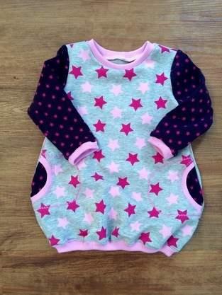 Makerist - Ballonkleid...für meine Enkeltochter aus Jersey ..gestern gekauft und heute genäht...einfach nur schön - 1