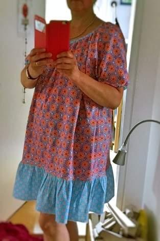 Leichtes Sommerkleid für mich