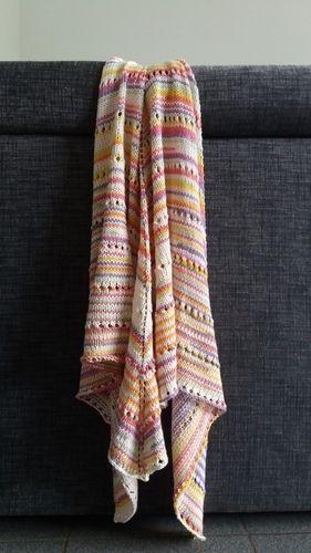 Makerist - châle tout doux et coloré pour l'été  - Créations de tricot - 1