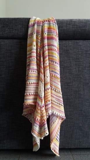 Makerist - châle tout doux et coloré pour l'été  - 1