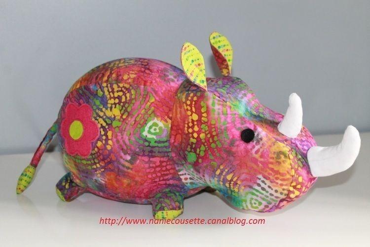 Makerist - Mon rhino - Créations de couture - 1