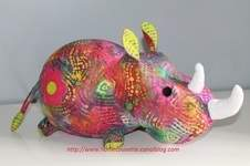 Makerist - Mon rhino - 1