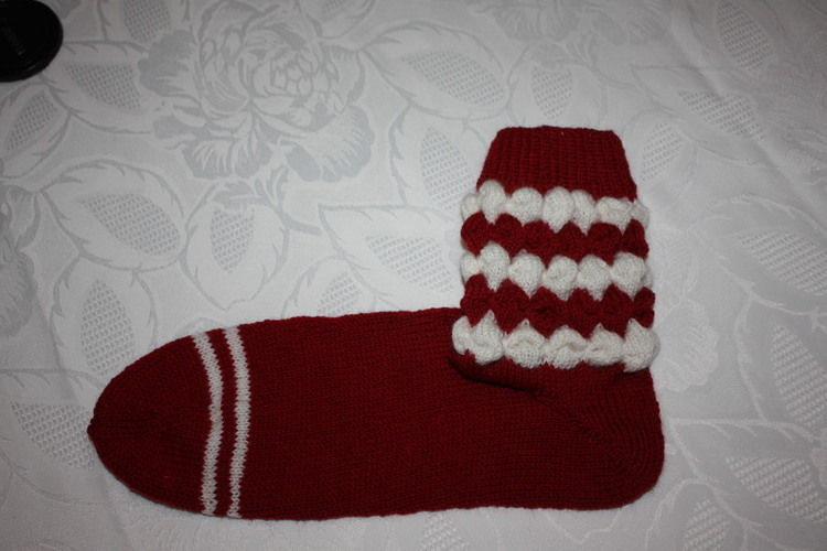 "Makerist - "" Bubbelsocken ""  - Strickprojekte - 1"
