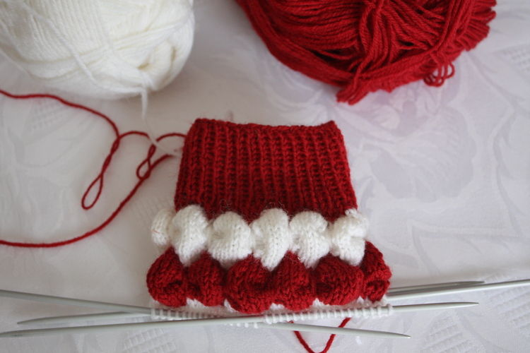 "Makerist - "" Bubbelsocken ""  - Strickprojekte - 2"
