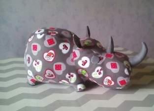 mon premier rhino....
