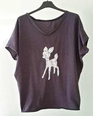 Makerist - T-shirt mit Rehkitz - 1