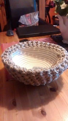 Makerist - Häkelkorb aus Paketschnur - Häkelprojekte - 1