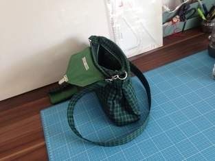 Handtasche und Portmonee