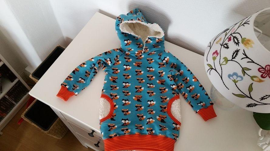 Makerist - Kuschelhoody für Babys - Nähprojekte - 1