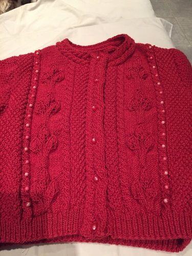 Makerist - Gilet fille 8 ans  - Créations de tricot - 1