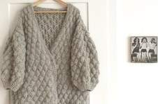 Makerist - Oversized Strickjacke - 1