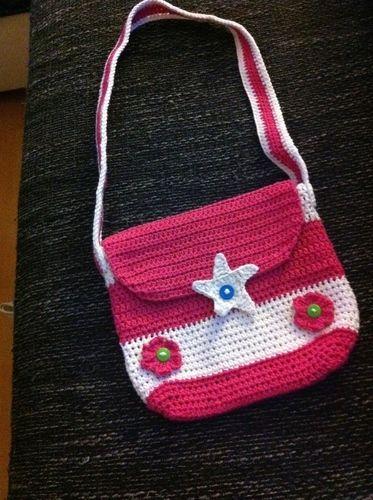Makerist - Umhängetasche für kleine Mädchen - Häkelprojekte - 3