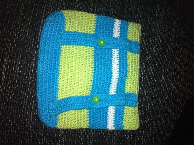 Makerist - kleine Tasche für den Fahrradlenker - Häkelprojekte - 2