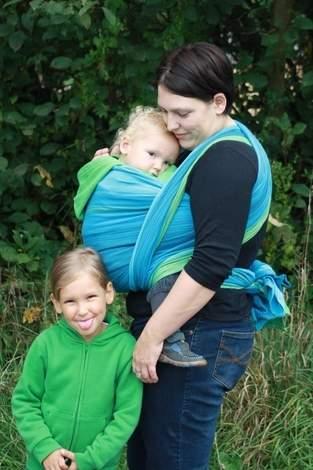 Handgewebtes Baby Tragetuch