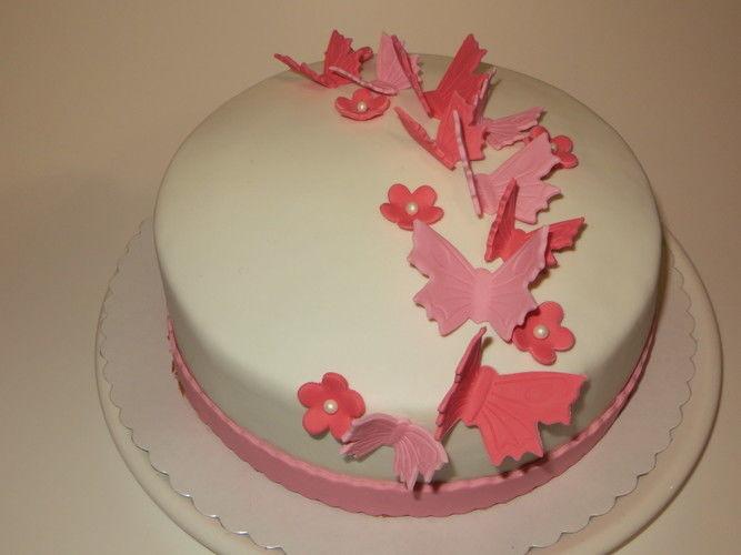 Makerist - Sweet Table in rosa und pink - Torten, Cake Pops und Cupcakes - 1