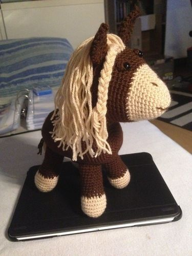 Makerist - Amigurumi Löwe + Pony - Häkelprojekte - 2