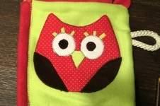 Makerist - Knistertuch Eule für eine gute Freundin die gerade ein Kind bekommen hat - 1