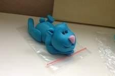 Makerist - Paul der blaue Bär aus Fondant - 1