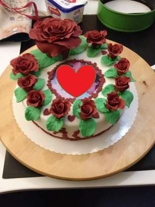Makerist - Torte zum 10. Hochzeitstag  - 1