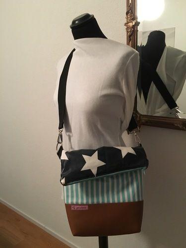 Makerist - Meine erste Fold Over Tasche - Nähprojekte - 1