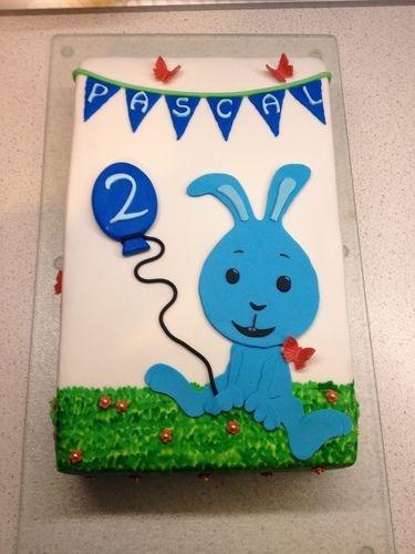 Makerist - Kikaninchen-Torte zum 2. Geburtstag - Torten, Cake Pops und Cupcakes - 1