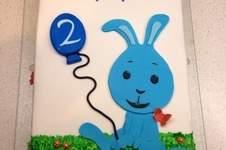 Makerist - Kikaninchen-Torte zum 2. Geburtstag - 1