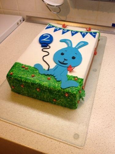 Makerist - Kikaninchen-Torte zum 2. Geburtstag - Torten, Cake Pops und Cupcakes - 2