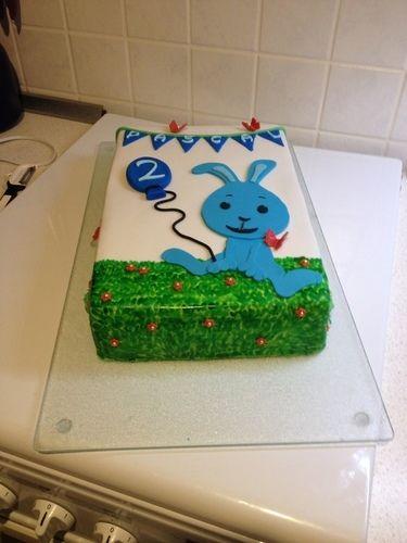 Makerist - Kikaninchen-Torte zum 2. Geburtstag - Torten, Cake Pops und Cupcakes - 3