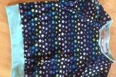 Makerist - Fledermausshirt im Sternlook - 1