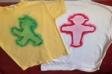 Makerist - Ampelmännchenschablone- Pinsel-Druck-T-shirt mit Wasserwischiwaschi für meine Jungs - 1