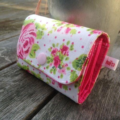 Makerist - MIKringpurse mit romantischen Rosen - Nähprojekte - 1