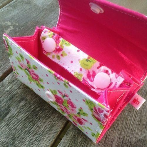 Makerist - MIKringpurse mit romantischen Rosen - Nähprojekte - 2