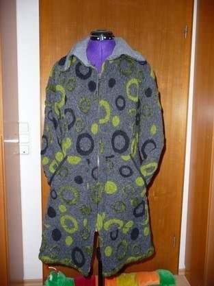Makerist - Mantel für kühlere Tage, aus Walkloden, für mich - 1