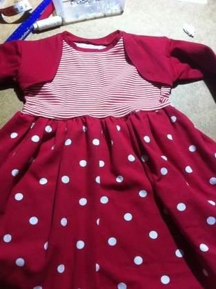 Makerist - Mustermix Kleid       Gr 92   für meine kleine Enkeltochter - 1