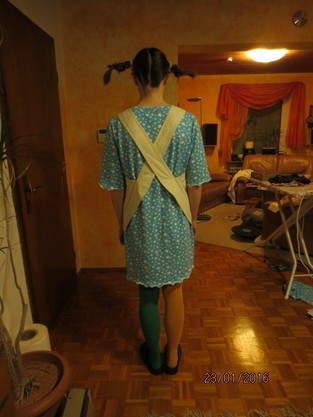 Pippi Langstrumpfkleid für Fastnacht