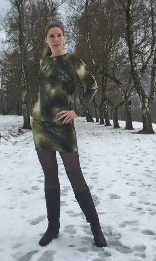 Kleid ARIA nach dem Schnitt von PiexSu