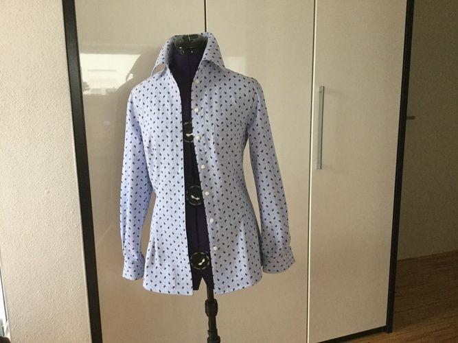 "Makerist - Perfekt passende Bluse "" Dank Mia"" - Nähprojekte - 1"