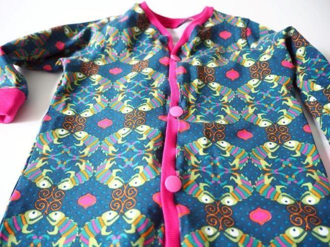 Makerist - Gecko Jumpsuit - Mädchen Gr. 68 - Nähprojekte - 2