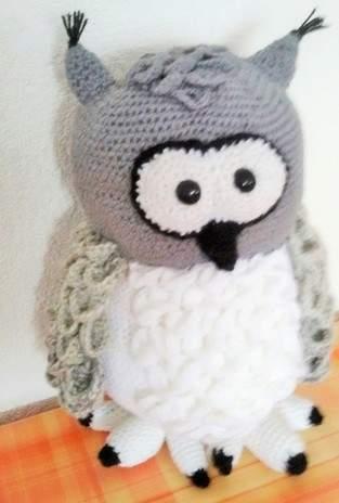 Makerist - Schneeeule Hedwig - 1