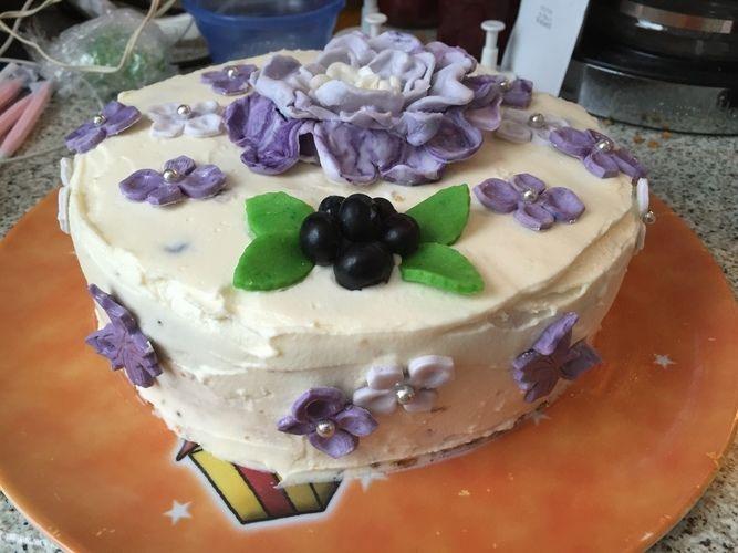 Makerist - Heidelbeer frischkäsetorte - Torten, Cake Pops und Cupcakes - 2