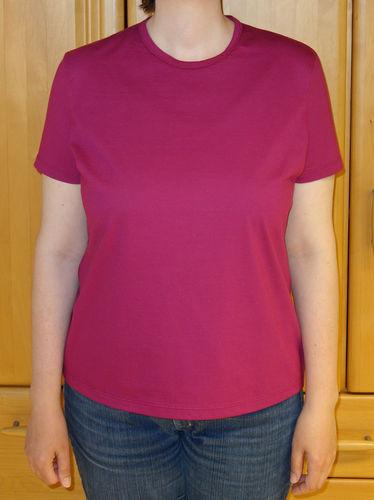 Makerist - schlichtes Damen-T-Shirt - Nähprojekte - 1