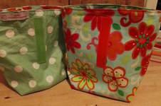 Makerist - Fröhliche Lunchbags aus buntem Wachstuch - 1