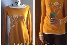 """Makerist - Herbstgold-Reglan""""shirt"""" - 1"""
