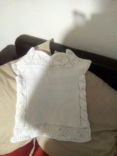 Makerist - Top ophelie fille modele de carole francone  - Créations de tricot - 1